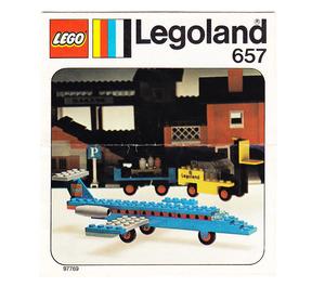 LEGO Aircraft Set 657-1 Instructions