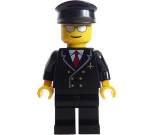 LEGO Airline Pilot mit Mirrored Sunglasses Minifigur