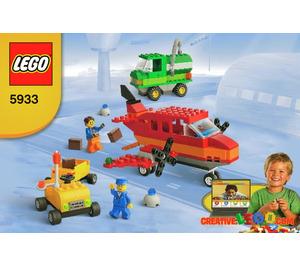LEGO Airport Building Set 5933 Instructions