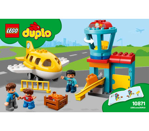 LEGO Airport Set 10871 Instructions