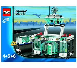 LEGO Airport Set 7894-1 Instructions