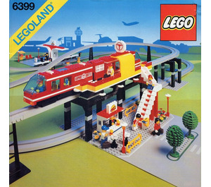 LEGO Airport Shuttle Set 6399
