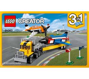 LEGO Airshow Aces Set 31060 Instructions
