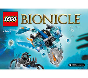 LEGO Akida - Creature of Water Set 71302 Instructions