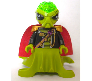 LEGO Alien Commander Minifigure