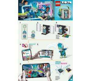LEGO Alien DJ BeatBox Set 43104 Instructions