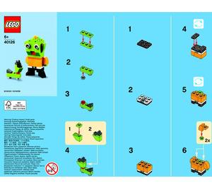 LEGO Alien Set 40126 Instructions