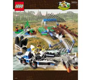 LEGO All Terrain Trapper Set 5955 Instructions