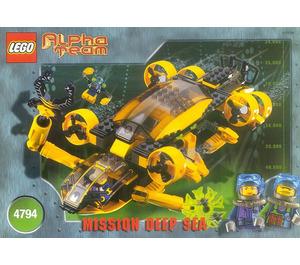 LEGO Alpha Team Command Sub Set 4794