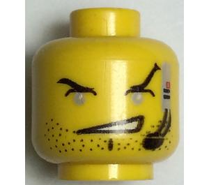LEGO  Alpha Team Head (Safety Stud) (3626)