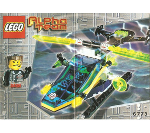 LEGO Alpha Team Helicopter Set 6773