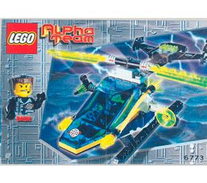 LEGO Alpha Team Helicopter Set 6773 Instructions