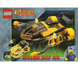 LEGO Alpha Team Navigator and ROV Set 4792