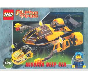 LEGO Alpha Team Navigator and ROV Set 4792 Instructions