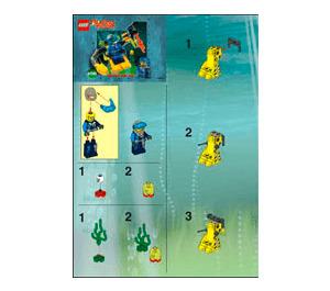 LEGO Alpha Team Robot Diver Set 4790 Instructions