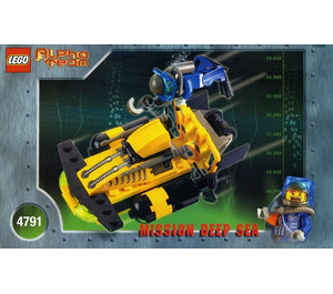LEGO Alpha Team Sub-Surface Scooter Set 4791