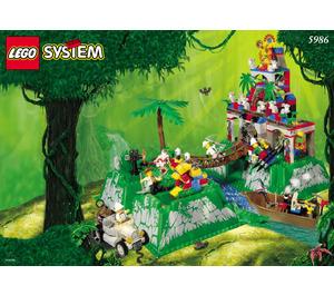 LEGO Amazon Ancient Ruins Set 5986 Instructions