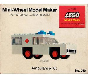 LEGO Ambulance Set 360-2
