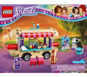 LEGO Amusement Park Hot Dog Van Set 41129 Instructions