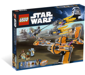 LEGO Anakin Skywalker and Sebulba's Podracers Set 7962 Packaging
