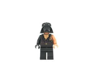 LEGO Anakin Skywalker (Battle Damaged) mit Darth Vader Helm Minifigur