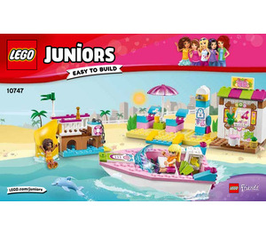 LEGO Andrea and Stephanie's Beach Holiday Set 10747 Instructions