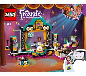 LEGO Andrea's Talent Show Set 41368 Instructions