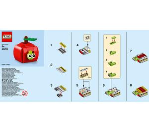 LEGO Apple Set 40215 Instructions