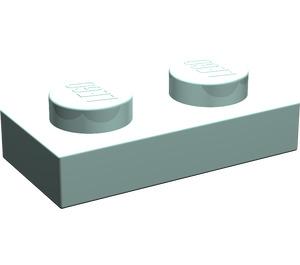 LEGO Aqua Plate 1 x 2 (3023)