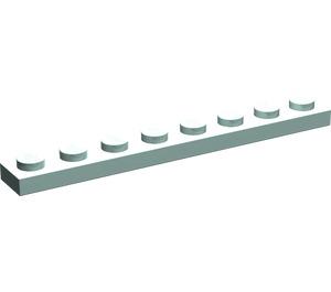 LEGO Aqua Plate 1 x 8 (3460)