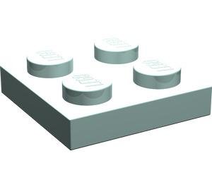 LEGO Aqua Plate 2 x 2