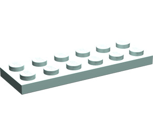 LEGO Aqua Plate 2 x 6 (3795)
