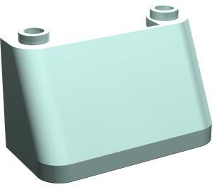LEGO Aqua Windscreen 2 x 4 x 2