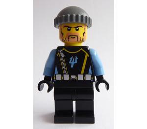 LEGO Aquaraider Diver 3 Minifigure