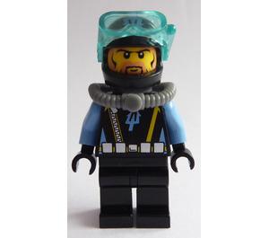 LEGO Aquaraider Diver 6 Minifigure