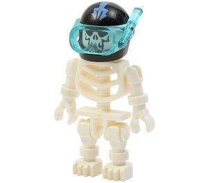 LEGO Aquaraider Skeleton Minifigure