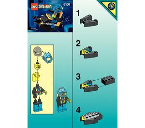 LEGO Aquashark Dart Set 6100 Instructions