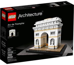LEGO Arc de Triomphe Set 21036 Packaging