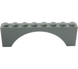 LEGO Arch 1 x 8 x 2 Thick Top and Reinforced Underside (3308)