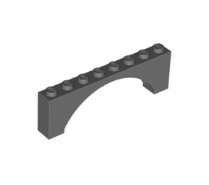 LEGO Arch 1 x 8 x 2 Thin Top without Reinforced Underside (16577)