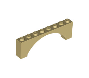LEGO Arch 1 x 8 x 2 Thin Top without Reinforced Underside (16577 / 40296)