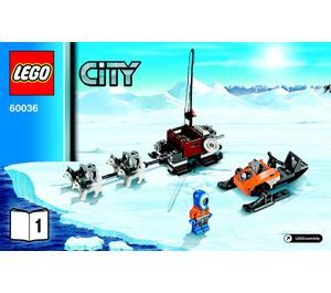 LEGO Arctic Base Camp Set 60036 Instructions