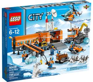 LEGO Arctic Base Camp Set 60036 Packaging