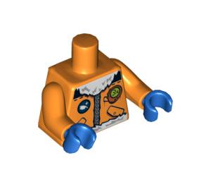 LEGO Arctic Explorer, Male with Orange Goggles Minifig Torso (76382 / 88585)