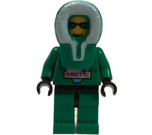 LEGO Arctic Man with Green Parka Minifigure