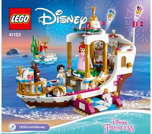 LEGO Ariel's Royal Celebration Boat Set 41153 Instructions