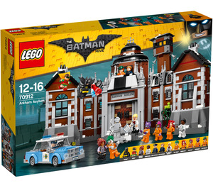 LEGO Arkham Asylum Set 70912 Packaging