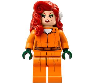 LEGO Arkham Poison Ivy with Orange Jumpsuit Minifigure