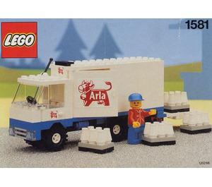 LEGO Arla Milk Delivery Truck Set 1581-2