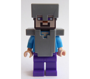 LEGO Armoured Steve Minifigure